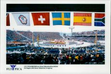 The opening of the Winter Olympics 1998