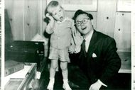 Mickey Rooney Jr. With his famous father Mickey Rooney
