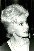 Portrait of actress Eva Gabor