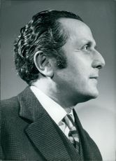 Portrait of Leopold Abse, 1961.