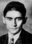Portrait of the author Franz Kafka