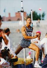 Goodwill Games Saint Petersburg. Dan O'Brien (USA), high jump, 10-match