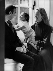 Prince and Princess Michael of Kent with son Fredrick 1 year old