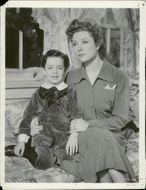 """Actress Greer Garson in the movie """"Flowers in Shadow"""""""