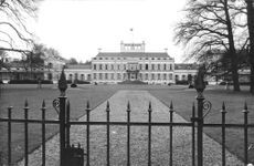 View of a mansion or a leader's residence.  - Feb 1964