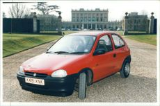 Vauxhall Motor Car:model corsa.