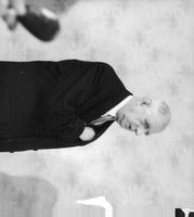 Charles André Joseph Marie de Gaulle standing alone.