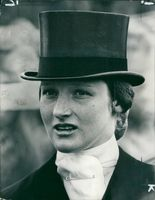 Portrait of British equestrian Lucinda Green