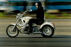 One of BMW's Cruise Motorcycle Models.