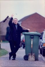 Roadsweeper David Gaff scooped 170,000euro in the national lottery.