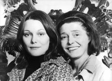 Patricia Neal with her daughter Tessa Dahl.
