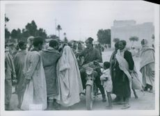 Italian troops to help out in Gafsa and be greeted by heartfelt natives.