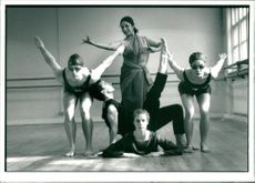 Dance: Stephen Kirkham, Rossana Sen, Elizabeth Old and Glen Wilkinson.