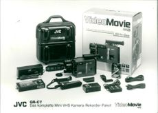 VHS package GR-C7 from JVC