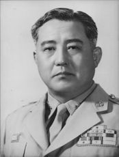 Portrait of Lt. General Kang Kl Chun.
