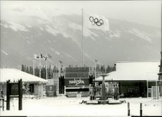 In Nakisika, the alpine disciplines will be decided during the Olympic Games in 1988.