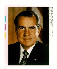Richard Nixon 37th U.S. President has had a stroke.