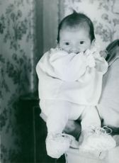 Prince Michae as a baby.