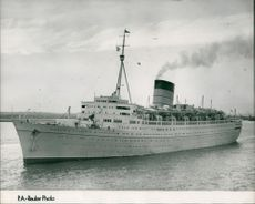 RMS Caronia:Ship