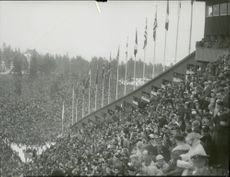 Publication of the 1952 Olympic Winter Games