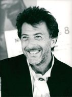 Portrait image of Dustin Hoffman taken during the Berlin Film Festival.