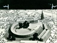 A model of the proposed redevelopment scheme near.