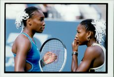 The sisters Serena and Venus Williams participated in the Patch match during the US Open.