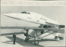 Concorde with Spirit of St. Louis