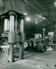 Man working in factory.