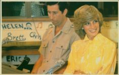 Charles and diana in the antipodes.