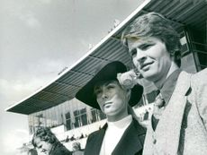 The racetrack. Ann Christine Ahrnell and Bertil Moldén at the spring premier