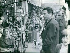 Raf Valone is looking at the market. 1967