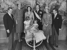 The royal family under the princess Madeleine's baptism