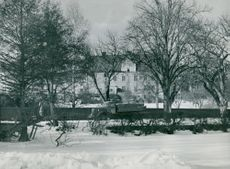 Bishop's farm in Strängnäs in 1953.