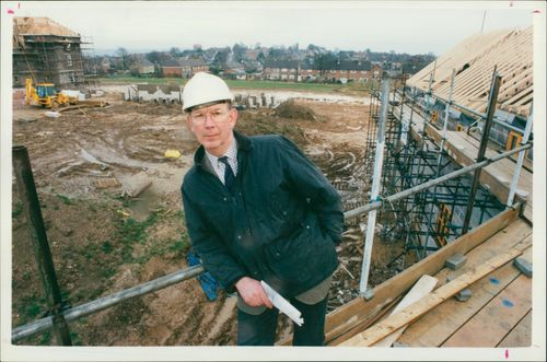 Poundbury: chief builder eddie fry.