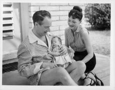 Victor Borge and family