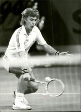 Action image of Hans Simonsson taken in conjunction with the Stockholm Open.