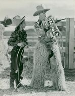 """Mickey Rooney in the movie """"Andy Hardy in the Wild West"""" - 9 July 1939"""