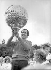 Winner image of Seve Ballesteros taken in an unknown context.
