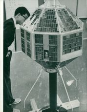 Japan's first artificial satellite