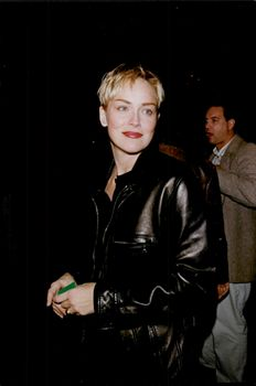 """Sharon Stone attends the premiere of the movie """"Winchell"""""""