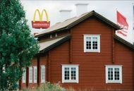 Sörgården next to McDonald's and IKEA