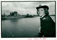Women's Royal Naval Service:Samantha allen.