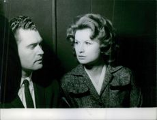 Raymond Bernard Finch and Carole Tregoff on trial.