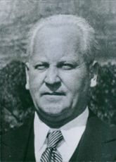 Close up of South African Politician Frans Erasmus