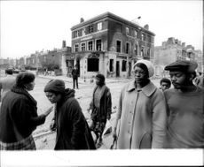 The devastation was great after the riot in Brixton.