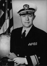 Vice Admiral John Marshall in a portrait.