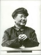 Former Chairman of the Communist Party of China, Mao Zedong. 1971.