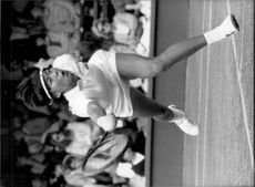 Hu Have been in the match against Annabel Croft in Wimbledon in 1985