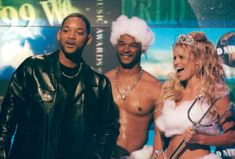 Will Smith, Damon Wayans och Pamela Anderson gästade Monaco Music Awards.